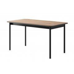 Stół BASIC BL140 jackson hickory/grafit