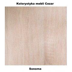 kolorystyka mebli Cezar sonoma