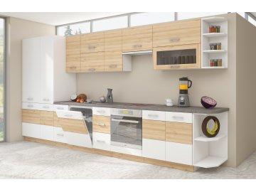 Białe modułowe meble kuchenne Iconic | tanie meble online
