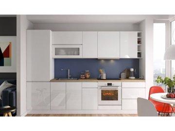Biała kuchnia modułowa z kolekcji Vegas | tanie meble kuchenne