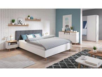 Meble do sypialni w stylu skandynawskim LOVELI ✓ tanie meble online