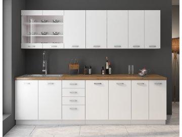 Kuchnia biały mat Eko White . Tanie meble kuchenne modułowe
