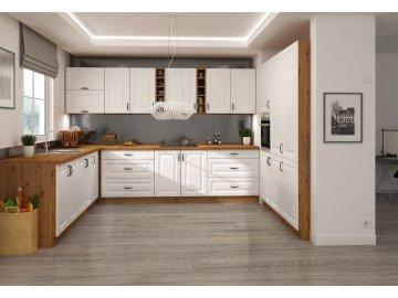 Biała kuchnia Stilo   tanie meble kuchenne online   kupuj i urządzaj
