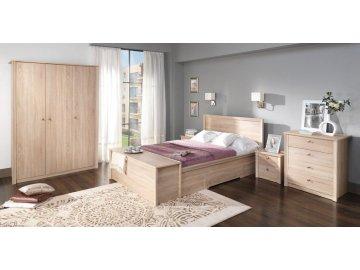 Finezja dąb sonoma - meble do każdej sypialni w delikatnym kolorze