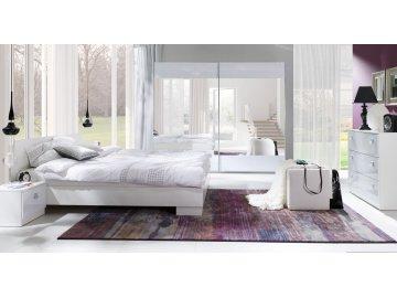 Białe meble do sypialni Lux Stripes ✓ tanie meble online