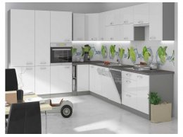 Kuchnia systemowa Exellence biały połysk błyskawiczna dostawa.